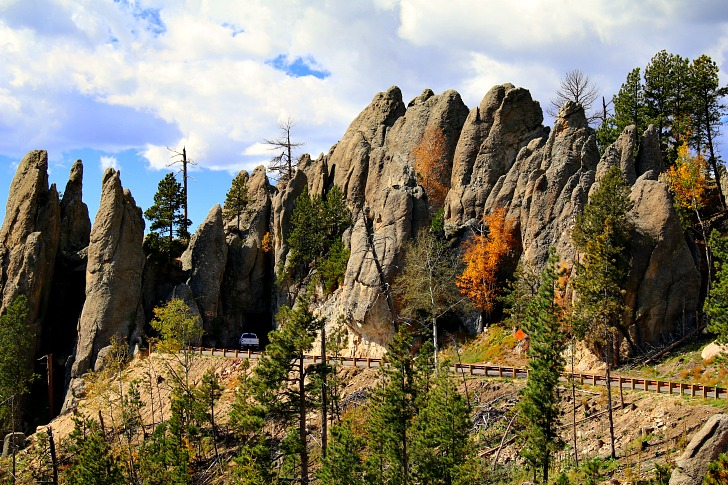 Iron Mountain Road Features Rugged Terrain and Magnificent Scenery