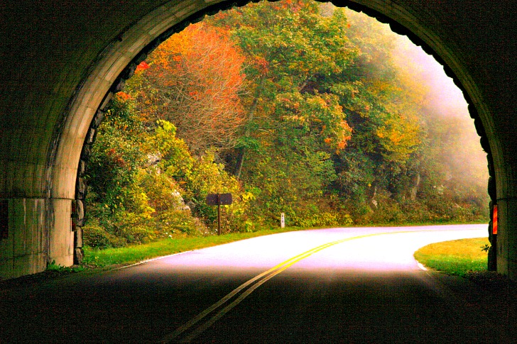 Finding Fall Color along the Blue Ridge Parkway and Beyond
