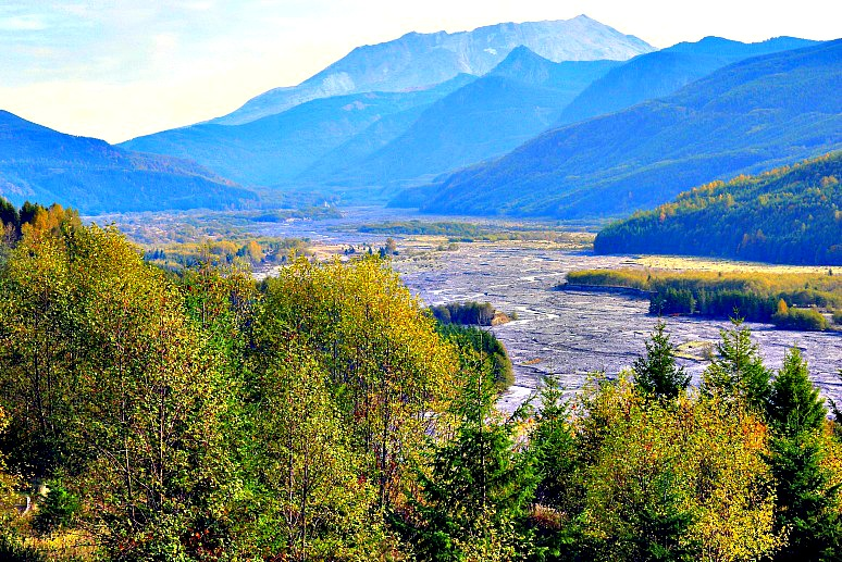 On the Road to Mount St. Helens