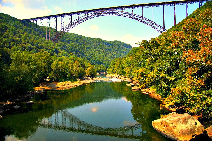 The Wild, Wonderful Waters of New River Gorge! Round Out Your Trip with a Visit to Babcock State Park & Glade Creek Grist Mill!